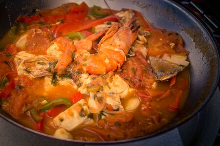 Portuguese fish and seafood specialties