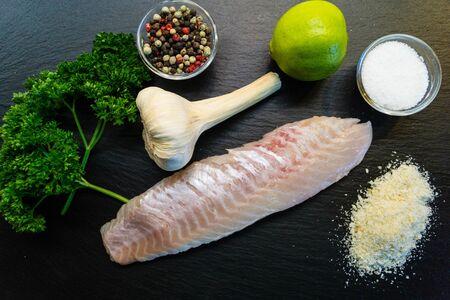 Red Snapper Sebastes norvegicus fish fillet