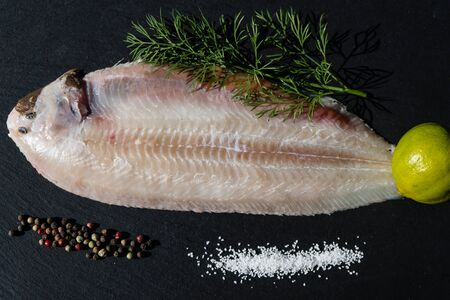 The saltwater sole a delicious flatfish