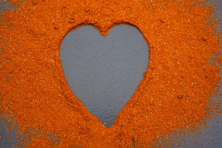 red Hungary paprika sweet spice Banque d'images