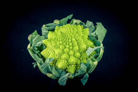 Romanesco the italian green cauliflower