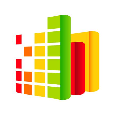 Branding corporate logo Isolated on white background