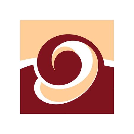 souffle: Branding corporate illustration  Isolated on white background