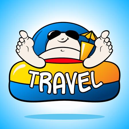 Branding identity corporate holiday symbol isolated on blue background