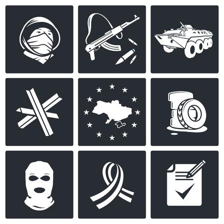 oposicion: Icono de Oposici�n fija en un fondo negro