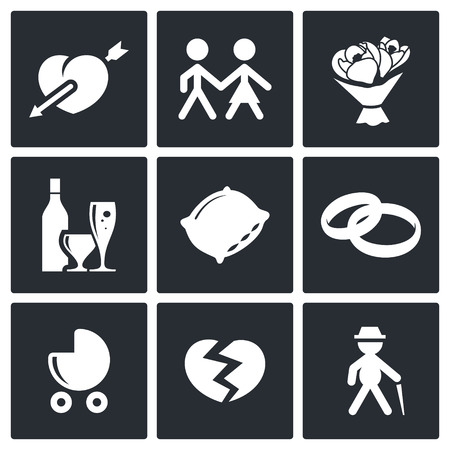 marriage bed: People and object symbol