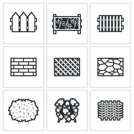 デザインの白の背景にベクトル分離フラット アイコン コレクション  イラスト・ベクター素材