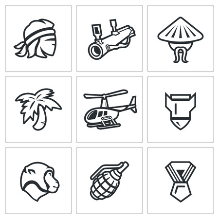 resident: Man, head, weapon, resident, palm, transport, shell, animal, medal.