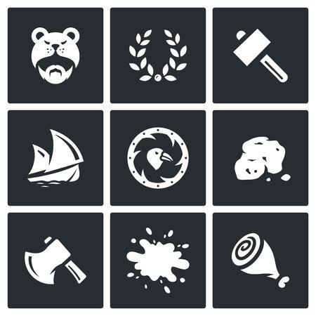 drakkar: Warrior, Glory, Gun, Drakkar, Armor, Stone, Weapon, Food