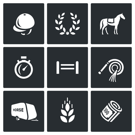 Equipment and tools for maintenance of horse sport