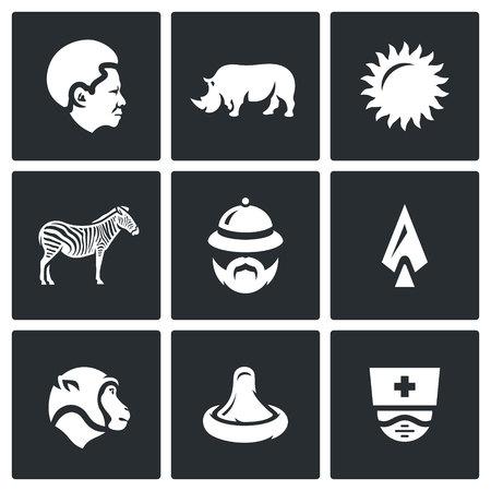 condom: Black, Rhinoceros, Sun, Zebra, Tourist, Spear, Monkey, Condom, Virology