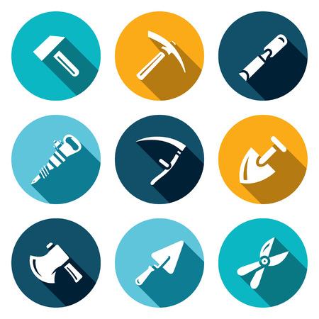 plugger: Hammer, Kirk, Chisel, Plugger Scythe Shovel Axe Trowel Pruner