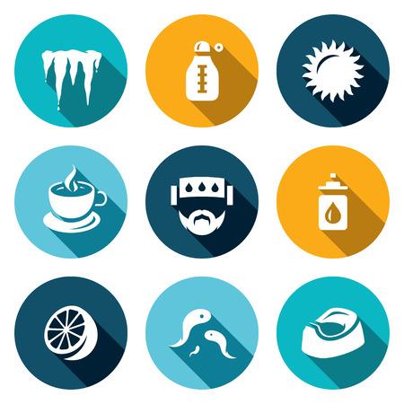 nasal drops: Icicle, Thermometer, Sun, Tea Patient Prevention Citrus Bloodsucker Toilet pot
