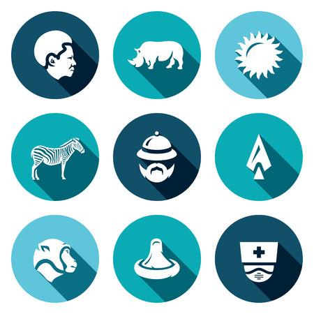 virology: Black, Rhinoceros, Sun, Zebra Tourist Spear Monkey Condom Virology