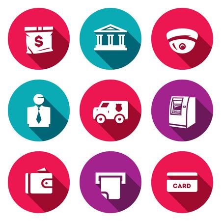 security staff: Encashment, Banks filial, Security, Staff Cash Finance Service Receipt