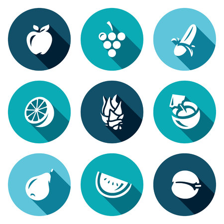 rich in vitamins: Various natural useful fruits rich in vitamins