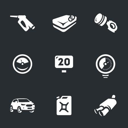 mileage: Fuel lever, fuel tank, piston, gauge, mileage, pressure, auto, canister, muffler.