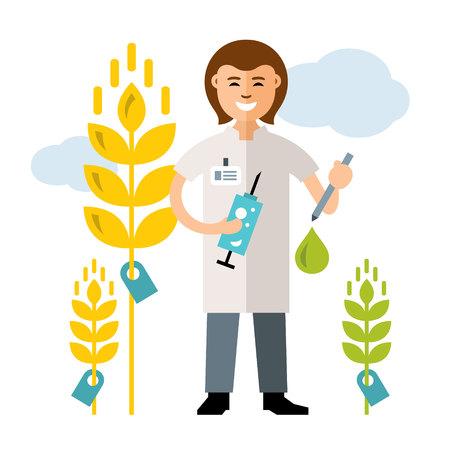 genetic engineering: Agriculture and Science - Plant breeding, genetic engineering.