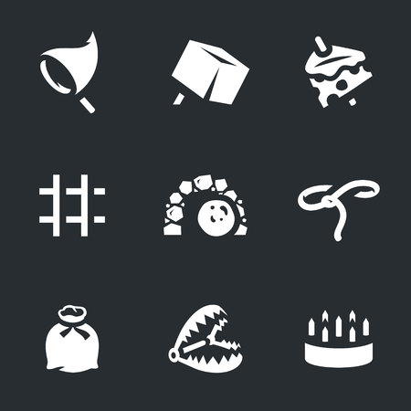 Vector Set of Trap Icons.