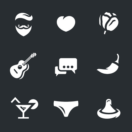 Vector Set of Lovelace Icons.
