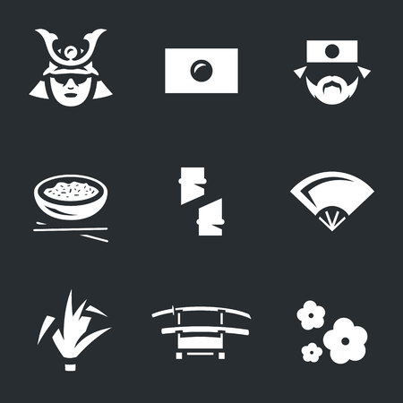 Vector Set of Japan Icons.