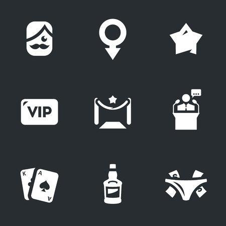 notability: Man, sign, star, vip, speaker, playing cards, alcohol, tips.