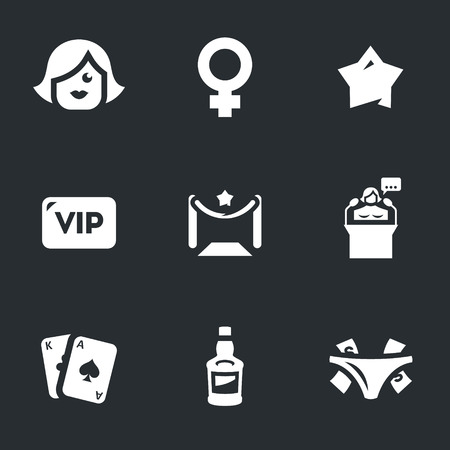 notability: Lady, star, vip, entrance, speaker, playing cards, alcohol, tips.