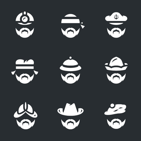 Set of People Icons Illustration