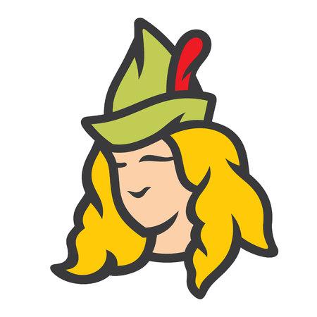 Robin Hood abstract sign