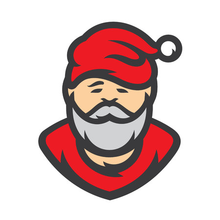 Christmas Santa Claus Vector Cartoon illustration.