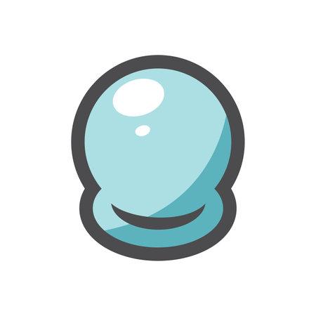 Vacuum glass cans Banks for vacuum procedures Massage jars Vector icon Cartoon illustration. 矢量图像
