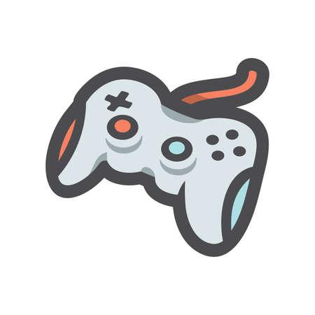 Joystick Game Controller Vector icon Cartoon illustration 矢量图像