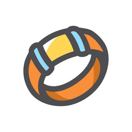 Wrist bracelet decoration Vector icon Cartoon illustration 矢量图像
