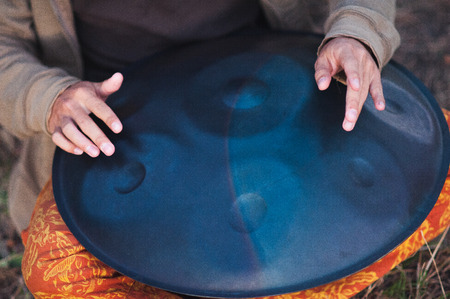 religious ritual instruments for meditation - a Royalty Free Stock ...
