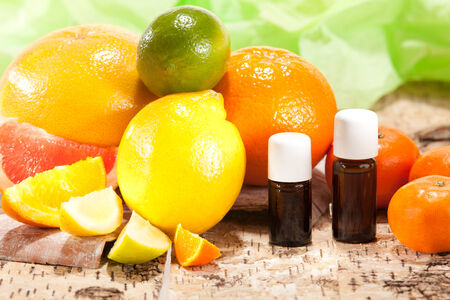 Essential oils from fruits