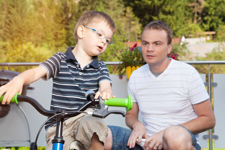 connectedness: Communication between father and son