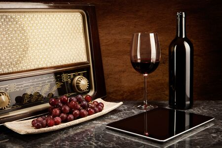 intellectually: Enjoying wine with old music and modern technology