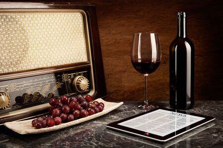 well read: Enjoying wine with old music and modern technology