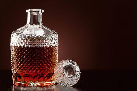 Alcohol in a carafe Stok Fotoğraf
