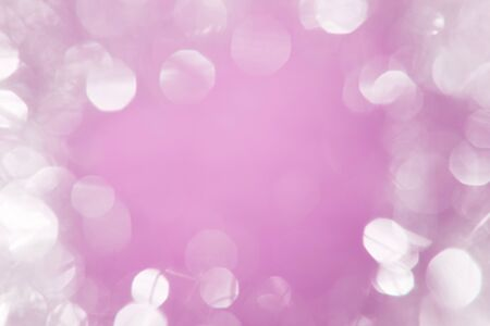 glimmer: Bright white bokeh with pink center