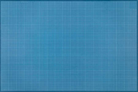 geometrically: Geometric desk pad in blue