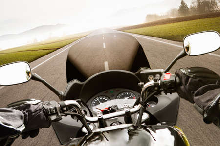 Motorcycling from the driver's perspective