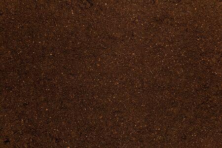 Texture of soil