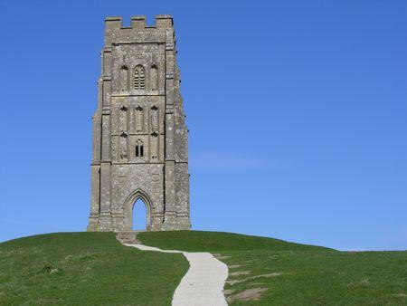 Glastonbury Tor in Somerset England