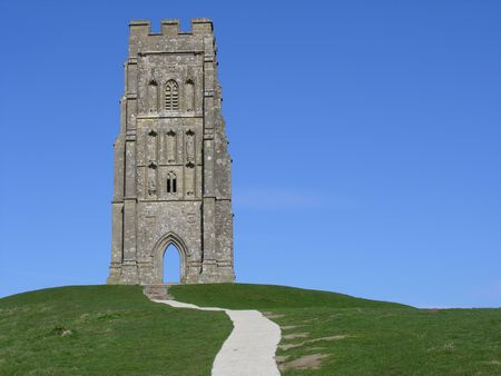 legends folklore: Glastonbury Tor in Somerset England