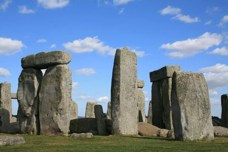 wiltshire: Stonehenge in Wiltshire England Stock Photo
