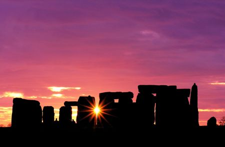 Stonehenge at Dawn           photo
