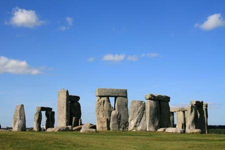 stoneworks: Stonehenge in Wiltshire England Stock Photo