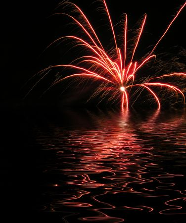 a firework display which would make a good background wallpaper stock photo picture and royalty free image image 2421750