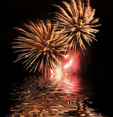would: Unesposizione del firework che farebbe una buona carta da parati o screensaver della priorit� bassa
